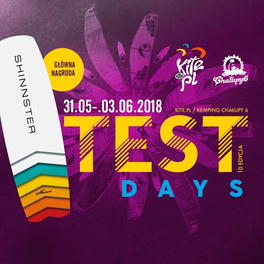 TEST DAYS 2018 vol 10 największe, darmowe testy sprzętu kite i sup